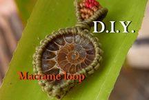 macrame loops