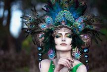 Like a goddess...