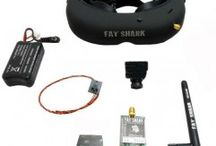 FPV Goggles and Kits / FPV video goggles, video transmitters, cables, gimbals, cameras