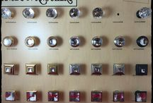 Decorative Hardware / This board contains all of our decorative hardware, including hardware for cabinets, doors, kitchen, bath, and windows.