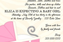 Baby Shower Invitations / by Cindy Peistrack