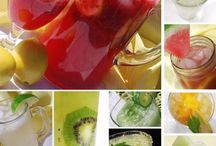 cool drinks / by Judy Bennett-Johnson