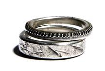 Ringpair / Pair of rings / Stacking rings / Ringpair, Pair of rings, Stacking rings Unisex, men's and women's jewellery