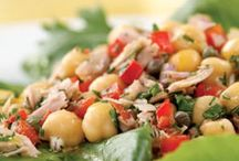 Salad Days / Leafy greens, vegetables, fruits, and nuts...salads are the perfect way to get healthy foods into your diet.