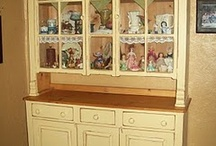 China Cabinets and Hutches / by Becky
