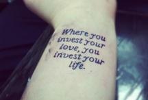 Tattoos / by Noora