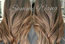 Colores de pelo y peinados
