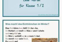 Tiere im Winter 1+2