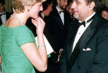 Diana meet the stars / She had many celebrity friends and admirers. Diana developed close connections with stars,Every Head Political Figures-