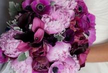 bouquets purple / by Tracy Kunstt