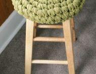 stool crochet