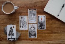 Tarot journal ideas / Tips and ideas for tarot blogging and journalling!