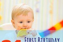 First birthday ideas