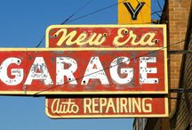 Garage Signage!