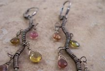 Jewellery/Wire wrap/Crystals