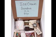 DIY sundae maker