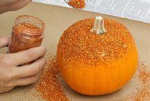 Modge Podge Your Pumpkins