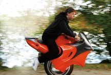 One wheeled motorcycle ( cool or what ) / I am going to get one