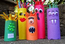 MONSTER & ROBOT CRAFTS / by Dawn Marelli