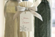 Gift Wrap / Ideas for wrapping gifts in love, not adding to the landfill with pulped trees.