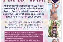#PerfectHoliday / Pepperberry competition board