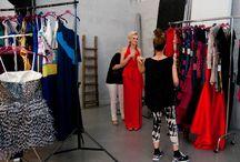 Backstage Andrea Miramonti by Pastore P/E 2015 / Backstage Andrea Miramonti by Pastore P/E 2015 Collections Spring-Summer 2015