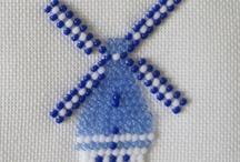 Needlework Blue and White / by Elisabeth Ames