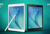 Tablet SAMSUNG Galaxy Tab A blanca y negra| Tablets SAMSUNG.