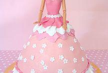 Cakes - Barbie Doll / by Debra Richter-Silnicki