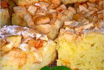 ciasto z cynamonowym jablkiem