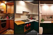 self-renovated kitchen