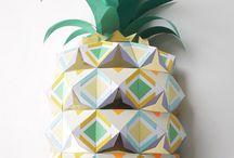 Ananas & Pastèques