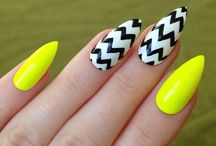 Pointy Nails / How to get and do pointy nails with beautiful pointy nails inspiration, designs and the latest trends from white, black, pink and matte pointy nails. - http://beautifieddesigns.com/pointy-nails/
