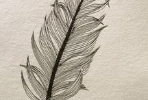 feathers / ideas for Fuddles