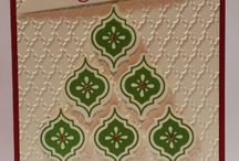 Stampin' Up Christmas Cards