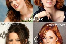 farby vlasov podľa tipologie