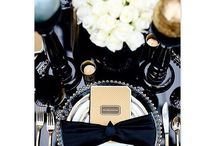 Table decorations / Inspiration on how to set a beautifull table for parties, weddings etc.