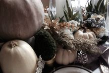 Thanksgiving Tablescape 2014