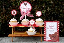 Teddy Bear Picnic Birthday Party!