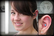 Ear Piercings We've Done / Any and all ear piercings done by our piercers.