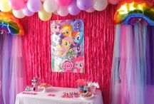My Little Pony Party / Birthday Party