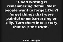 writing: tips/ideas