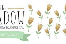 Drops CAL-blomstereng, norwegian / meadow field, heklet CAL,alle videoer og mønster på norsk