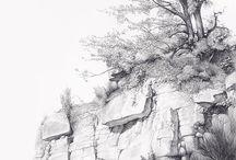 Art - Graphite Landscapes