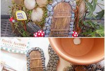 Fairy gardens & Fairy houses