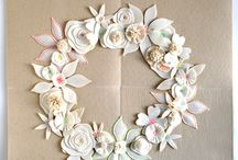 DIY garlands wreaths mobiles / by Anna S