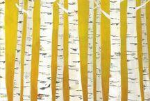 birches / by LeAnn Werner