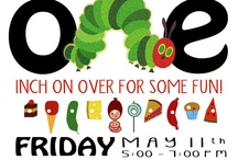 Very hungry caterpillar party / by Sadie Prater Barron
