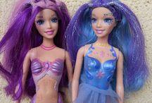 Barbie Meerjungfrauen / www.lenas-und-julis-barbiewelt.npage.de