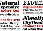 Tipografía/Caligrafía / Distintos tipos de tipos